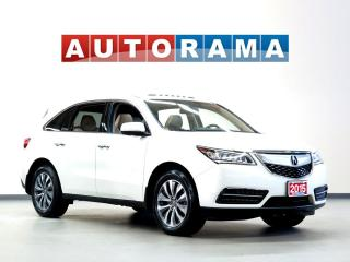 Used 2015 Acura MDX NAVIGATION 7 PASS LEATHER SUNROOF BACK UP CAM AWD for sale in Toronto, ON