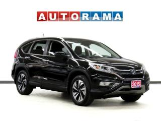 Used 2015 Honda CR-V TOURING PKG NAVI LEATHER SUNROOF BACK UP CAM AWD for sale in Toronto, ON