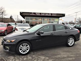 Used 2018 Chevrolet Malibu LT|REARVIEW|ALLOYS| for sale in Mississauga, ON