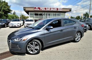 Used 2017 Hyundai Elantra GLS|SUNROOF|ALLOYS| for sale in Mississauga, ON