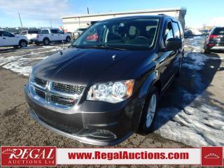 Used 2017 Dodge Grand Caravan SXT Wagon 3.6L for sale in Calgary, AB