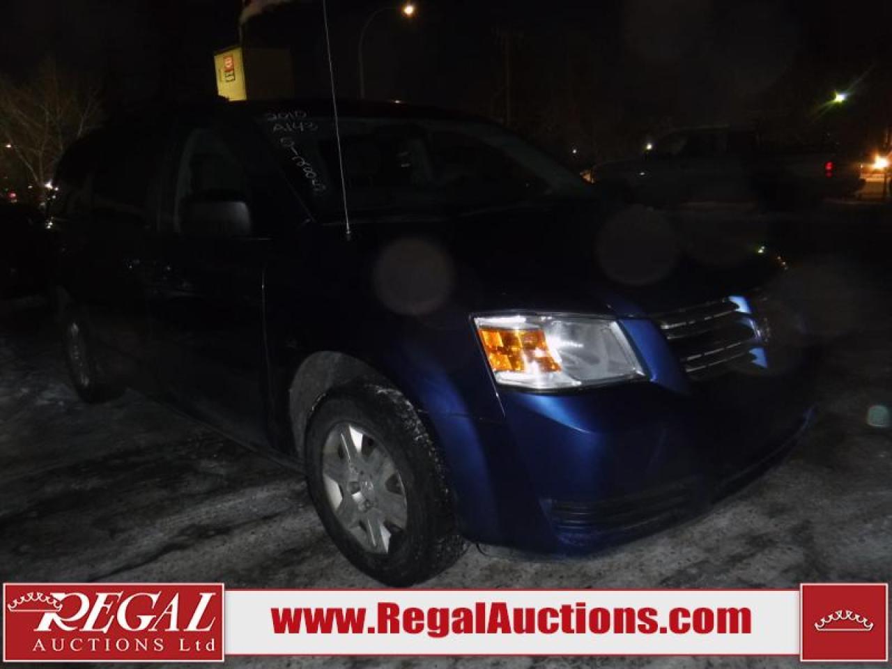 Photo of Blue 2010 Dodge Caravan