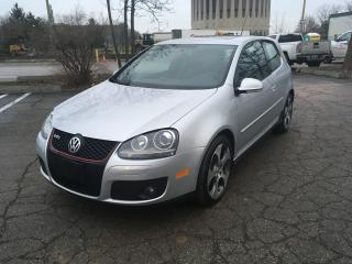 Used 2007 Volkswagen GTI 2.0T 6-Speed! for sale in Toronto, ON