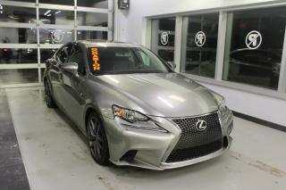 Used 2015 Lexus IS 350 F SPORT AWD *GPS-TOIT-CUIR-CAMÉRA* for sale in Lévis, QC