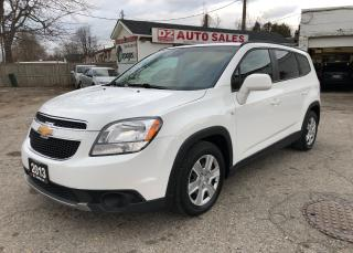 Used 2013 Chevrolet Orlando LT/Certified/Automatic/7 Passenger/1 Owner for sale in Scarborough, ON