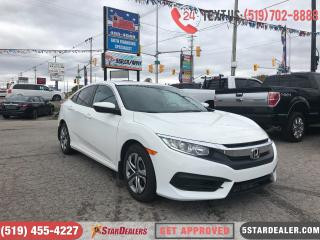 Used 2016 Honda Civic LX | LOW KMS | CAM | 1 OWNER for sale in London, ON