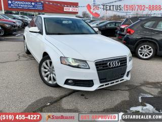 Used 2012 Audi A4 2.0T | LEATHER | ROOF | HEATED SEATS for sale in London, ON