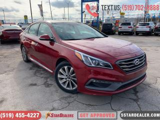 Used 2016 Hyundai Sonata Sport Tech | NAV | LEATHER | PANO ROOF | CAM for sale in London, ON