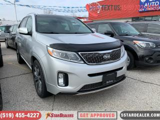 Used 2015 Kia Sorento SX | LEATHER | PANO ROOF | AWD for sale in London, ON