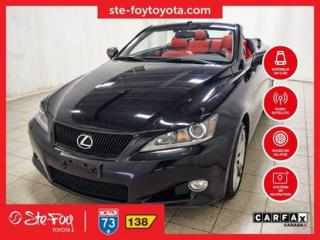 Used 2012 Lexus IS 250 Convertible Cuir for sale in Québec, QC
