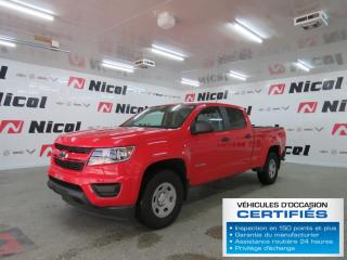 Used 2016 Chevrolet Colorado WT for sale in La Sarre, QC