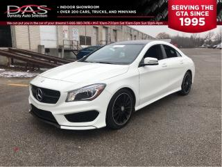 Used 2016 Mercedes-Benz CLA-Class CLA250 4MATIC AMG NAVIGATION/LEATHER/LOADED for sale in North York, ON