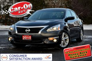 Used 2015 Nissan Altima 2.5 SV SUNROOF REAR CAM HTD SEATS ONLY 41,000 KM for sale in Ottawa, ON
