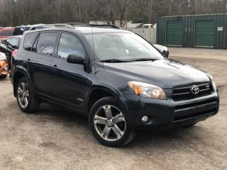 Used 2008 Toyota RAV4 No-Accidents 4WD V6 Sport Sunroof for sale in Holland Landing, ON
