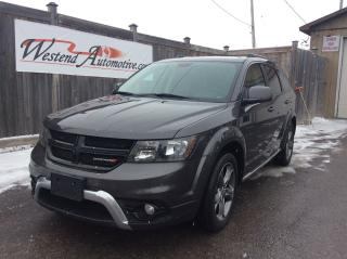 Used 2018 Dodge Journey Crossroad 7 Passenger  AWD for sale in Stittsville, ON