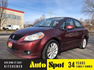 Used 2009 Suzuki SX4 Sport/ LOW, LOW KMS/PRICED-QUICK SALE! for sale in Kitchener, ON