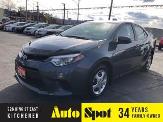 Used 2014 Toyota Corolla LOW, LOW KMS/PRICED-QUICK SALE! for sale in Kitchener, ON