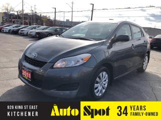 Used 2011 Toyota Matrix LOW, LOW KMS/PRICED - QUICK SALE! for sale in Kitchener, ON