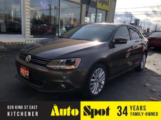 Used 2012 Volkswagen Jetta Highline/LOADED-LEATHER/DIESEL/PRICED-QUICK SALE! for sale in Kitchener, ON