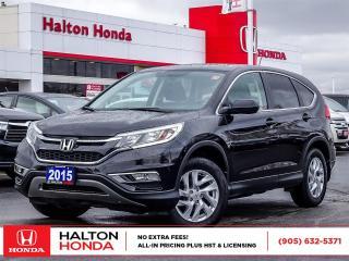 Used 2015 Honda CR-V EX|ONE OWNER|SERVICE HISTORY ON FILE for sale in Burlington, ON