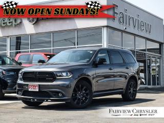 Used 2018 Dodge Durango GT l BLACKTOP l DUAL DVD l SUNROOF l for sale in Burlington, ON