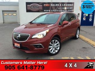 Used 2016 Buick Envision Premium I  AWD NAV CAM BS LD LEATH 4X-HS BOSE P/SEATS PARK-SENS for sale in St. Catharines, ON