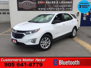 Used 2018 Chevrolet Equinox LS  HEATED SEATS CAMERA  BLUETOOTH POWER GROUP for sale in St. Catharines, ON