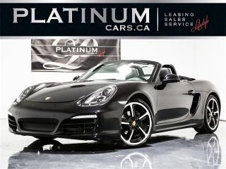 Used 2016 Porsche Boxster Black EDITION, NAVI, CAM, PDK, Sports Chrono for sale in Toronto, ON