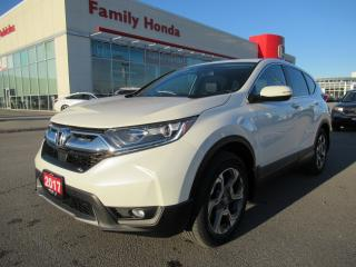 Used 2017 Honda CR-V EX-L, HONDA CERTIFIED! for sale in Brampton, ON