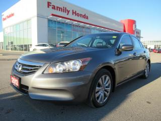 Used 2012 Honda Accord EX-L w/Navi, WINTER TIRES incl! for sale in Brampton, ON