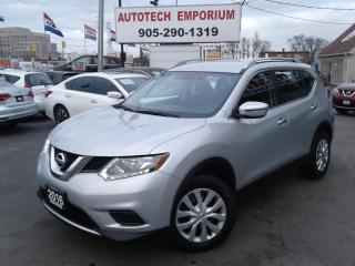Used 2016 Nissan Rogue S AWD Btooth/Camera/All Power &GPS* for sale in Mississauga, ON