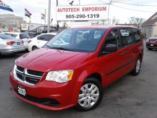 Used 2015 Dodge Grand Caravan Bluetooth/DVD Entertainment/Keyless &GPS* for sale in Mississauga, ON