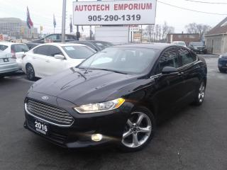 Used 2016 Ford Fusion SE Auto Btooth/Camera/Alloys&GPS* for sale in Mississauga, ON
