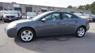 Used 2008 Pontiac G6 2.4L Sedan *One Owner* Sunroof Certified 2Yr Warranty *Accident Free* for sale in Milton, ON