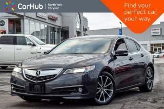 Used 2015 Acura TLX V6 Elite SH-AWD|Nav|Sunroof|BackUp Cam.|Keyless_Go for sale in Thornhill, ON
