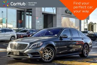 Used 2017 Mercedes-Benz S-Class S 550 4Matic|Sport,Driver Asst.,Pkgs|Nav|Burmester Audio for sale in Thornhill, ON