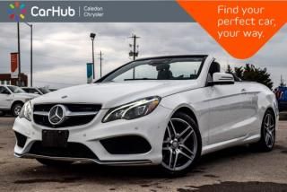 New 2017 Mercedes-Benz E-Class E 400|Convertible Pwr Top|Navi|Backup Cam|Bluetooth|Blind Spot|Leather|18