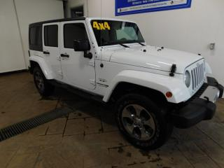 Used 2018 Jeep Wrangler JK Unlimited Sahara NAVI for sale in Listowel, ON