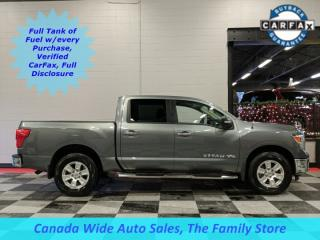 Used 2018 Nissan Titan 4X4,Crew Cab, SV, 5.6L, Back Up Camera for sale in Edmonton, AB