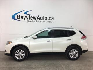 Used 2015 Nissan Rogue SV - REVERSE CAM! HTD SEATS! BLUETOOTH! PUSH START! PANOROOF! ALLOYS! for sale in Belleville, ON