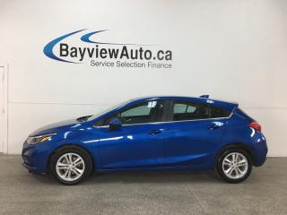 Used 2018 Chevrolet Cruze LT Auto - REMOTE START! PUSH START! HTD SEATS! MYLINK! ONSTAR! WIFI! REVERSE CAM! for sale in Belleville, ON