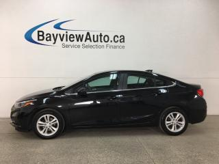 Used 2018 Chevrolet Cruze LT Auto - MYLINK! ONSTAR! REMOTE START! SUNROOF! BOSE SOUND! RCTA! for sale in Belleville, ON