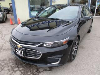 Used 2017 Chevrolet Malibu LOADED 1-LT EDITION 5 PASSENGER 1.5L - ECO.. LEATHER.. HEATED SEATS.. NAVIGATION.. SUNROOF.. BACK-UP CAMERA.. BOSE AUDIO.. for sale in Bradford, ON