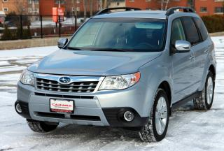 Used 2013 Subaru Forester 2.5X Limited Package NAVI | Leather | Sunroof | CERTIFIED for sale in Waterloo, ON