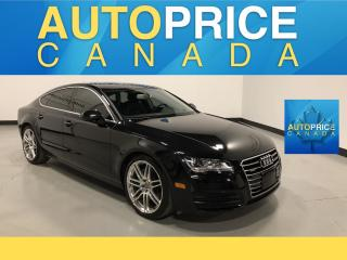 Used 2014 Audi A7 TDI Progressiv MOONROOF|NAVIGATION|LEATHER for sale in Mississauga, ON