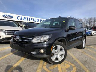 Used 2015 Volkswagen Tiguan Comfortline AWD|PANORAMIC MOONROOF|BLUETOOTH for sale in Barrie, ON