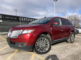 Used 2013 Lincoln MKX AWD|PANORAMIC VISTA ROOF|NAVIGATION for sale in Barrie, ON