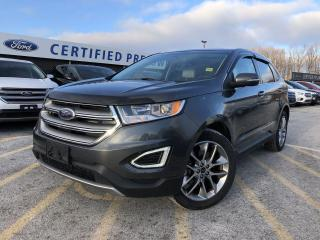 Used 2015 Ford Edge Titanium AWD|NAVIGATION|PANORAMIC ROOF|LEATHER for sale in Barrie, ON