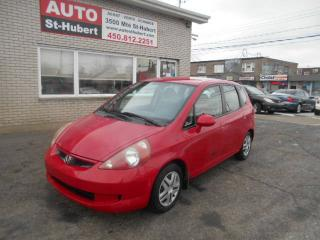 Used 2008 Honda Fit DX for sale in St-Hubert, QC
