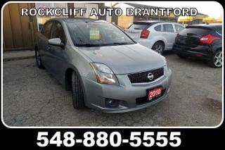 Used 2010 Nissan Sentra 4dr Sdn I4 CVT SE-R for sale in Brantford, ON